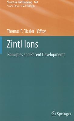 Zintl Ions By Fassler, Thomas F. (EDT)
